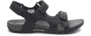 Pánske  Sandspur Rift Sandále Merrell -  čierna