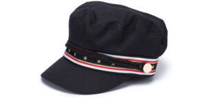 Dámske  Baker Boy Čapica Tommy Hilfiger -  čierna