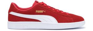 Pánske  Smash V2 Tenisky Puma -  červená