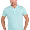 Pánske  Polo tričko Tommy Hilfiger -  modrá zelená
