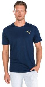 Pánske  Tričko Puma -  modrá