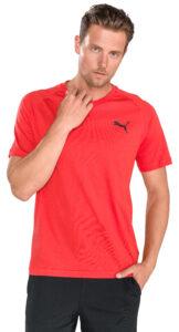 Pánske  Tričko Puma -  červená