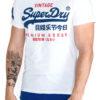 Pánske  Tričko SuperDry -  biela