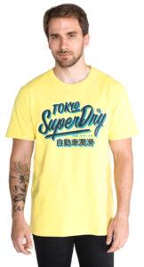 Pánske  Tričko SuperDry -  žltá