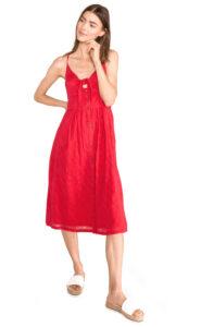 Dámske  Jayde Šaty SuperDry -  červená