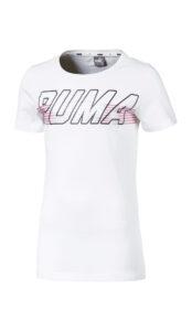 Chlapčenské  Alpha Tričko detské Puma -  biela