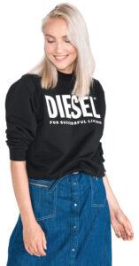 Dámske  F-Ang Mikina Diesel -  čierna