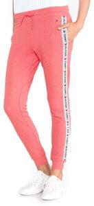 Dámske  Tepláky Tommy Hilfiger -  ružová béžová