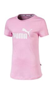 Dievčenské  Essentials Tričko detské Puma -  ružová
