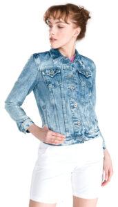 Dámske  Thrift Bunda Pepe Jeans -  modrá