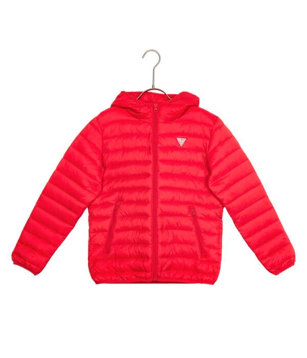 Chlapčenské  Bunda detská Guess -  červená