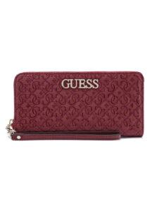 Dámske  Wilona Large Peňaženka Guess -  červená