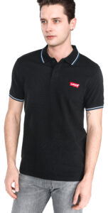 Pánske  Polo tričko Levi's -  čierna