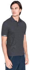 Pánske  HP Code Zero Polo tričko Helly Hansen -  šedá