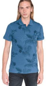 Pánske  Fun Polo tričko Jack & Jones -  modrá