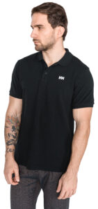 Pánske  Transat Polo tričko Helly Hansen -  čierna