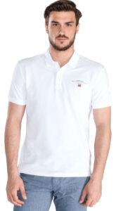 Pánske  Elabas 2 Polo tričko Napapijri -  biela