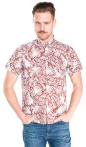 Pánske  Hugh Košile Pepe Jeans -  červená šedá