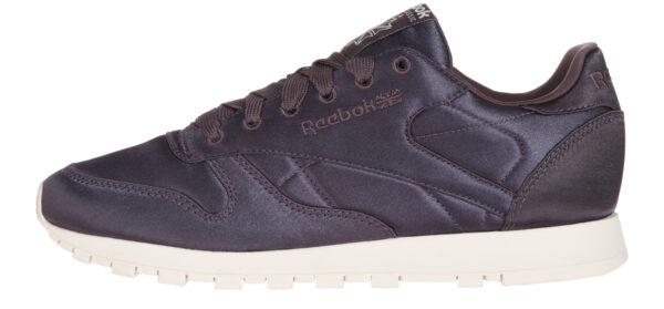 Dámske  Classic Leather Satin Tenisky Reebok -  fialová
