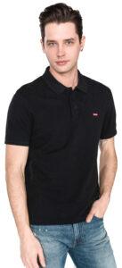 Pánske  Housemark Polo tričko Levi's -  čierna
