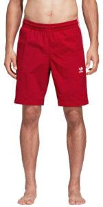 Pánske  3-Stripes Plavky adidas Originals -  červená