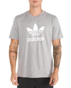 Pánske  Trefoil Tričko adidas Originals -  šedá