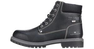 Pánske  Členková obuv Tom Tailor -  čierna