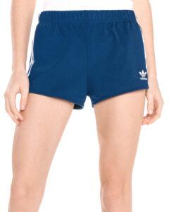 Dámske  3-Stripes Šortky adidas Originals -  modrá