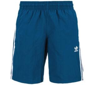 Pánske  3-Stripes Plavky adidas Originals -  modrá