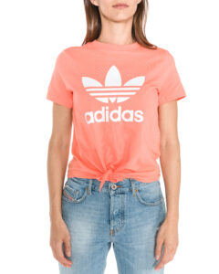 Dámske  Trefoil Tričko adidas Originals -  oranžová