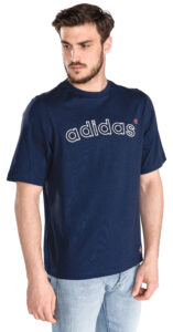 Pánske  Archive Logo Tričko adidas Originals -  modrá