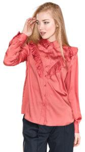 Dámske  Sybyl Blúzka Pepe Jeans -  červená ružová