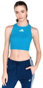 Dámske  Crop Top adidas Originals -  modrá
