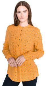 Dámske  Blúzka Tommy Hilfiger -  žltá oranžová