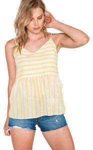 Dámske  Sunny Top Vero Moda -  žltá