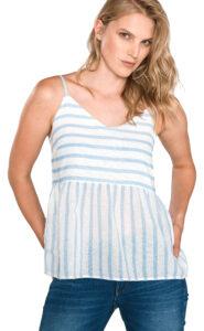 Dámske  Sunny Top Vero Moda -  modrá biela