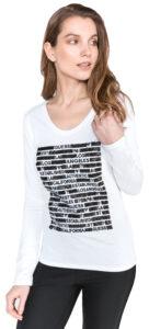 Dámske  Los Angeles Tričko Guess -  biela