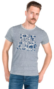 Pánske  Jack Tričko Pepe Jeans -  modrá