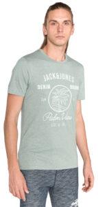 Pánske  New Hero Tričko Jack & Jones -  zelená