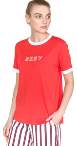 Dámske  Tričko DKNY -  červená