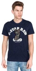 Pánske  Graphic 4 Tričko G-Star RAW -  modrá