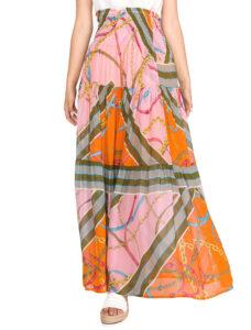 Dámske  Constance 1 Sukňa Pinko -  ružová oranžová