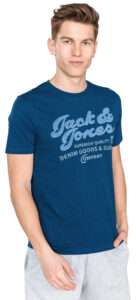 Pánske  Super Tričko Jack & Jones -  modrá