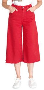Dámske  Martha 3 Nohavice Pinko -  červená