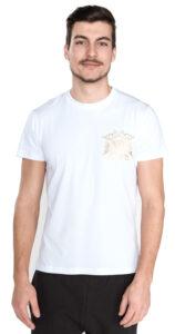 Pánske  Tričko Versace Jeans -  biela