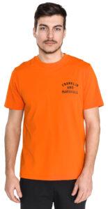 Pánske  Tričko Franklin & Marshall -  oranžová