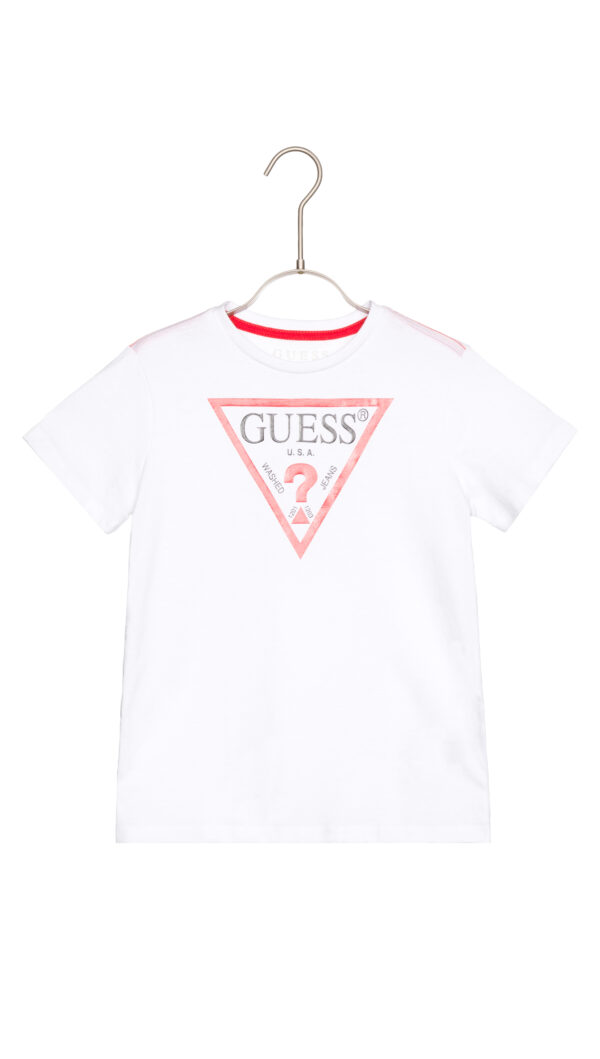 Chlapčenské  Tričko detské Guess -  biela
