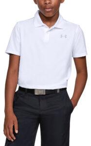 Chlapčenské  Polo tričko detské Under Armour -  biela