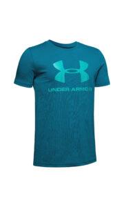 Chlapčenské  Sportstyle Tričko detské Under Armour -  modrá