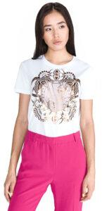 Dámske  Tričko Versace Jeans -  biela